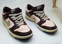VIintage Women's Nike SB Dunk Low Pro 302517-222 Mahogany Storm Pink Size 8 US