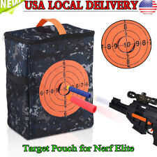 Portable Target Pouch Storage Carry Equipment Bag for Guns Darts