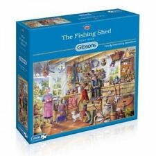 Gibsons The Fishing Shed 1000 Piece Jigsaw Puzzle G6173