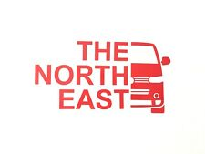 VW T5.1 Transporter 'The North East' Vinyl Decal Sticker