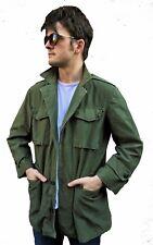 Genuine Vtg NATO U.S Army M51 Military Parka Jacket Green – Small/Medium/Large