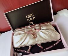 BNWT Stunning Juicy Couture Hand Clutch with Original Box and Ribbon