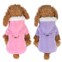 Puppy Winter Sweater Hoodie Coat Jacket For Small Pet Dog Warm Costume Apparel