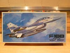"""fujimi 1/72 f-16b plus fighting falcon, """"wolf pack"""" model kit"""