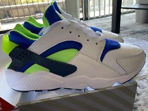 "Nike Air Huarache OG ""Scream Green"" - 2021 Sz 13 Men's DD1068-100"