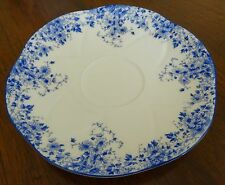 Shelley England Dainty Blue Saucer for Tea Coffee Cup ONLY NO Cup Available