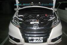 White Strut Lift Hood Shock Bonnet Damper Kit for 13-17 Honda Odyssey RC1 RC2
