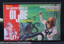 """G. I. Joe Eight Ropes of Danger 2"""" x 3"""" Fridge / Locker Magnet. Vintage Toy"""