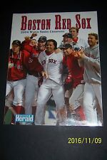 2004 Boston Herald RED SOX Win The WORLD SERIES 128 page COMMEMORATIVE Edition