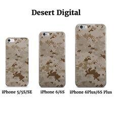 Camo iPhone Cases 5 5S SE 6 6S 6 Plus 6S Plus MultiCam AOR1 Woodland MARPAT