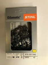 NEW STIHL CHAINSAW CHAIN SAW 16 in. 26RS 62 .325 .63 62 16 INCH BLADE AGGRESSIVE