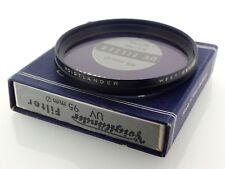 Voigtlander 317/95 AR95 95 mm Filtre UV-Coffret