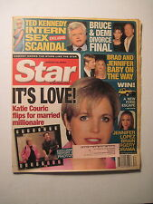 Star Magazine 8-22-2000. Demi Moore Bruce Willis Divorce! Brad Pitt! Ted Kennedy