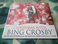 Neuf Noël Avec Bing Crosby Noël CD Bonhomme de Neige Blanc Noël Neige Dieu Rest