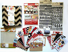 SIMPLE STORIES [SAY CHEESE ] Disney Album Set with embellishments -  Save 48%