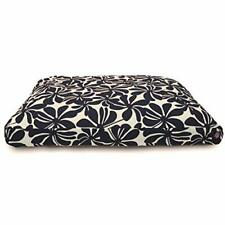 New listing Navy Blue Plantation Large Rectangle Indoor Outdoor Pet Dog Bed With Removabl.