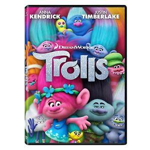 Trolls (DVD, 2017) PAL Region 4 (Anna Kendrick, Justin Timberlake) Dreamworks