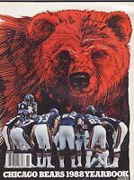 1988 CHICAGO BEARS nfl pro football yearbook