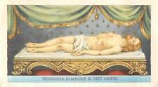 """OLD nice rare Holy cards 60`s """"H8403"""" san orazione de jesu"""
