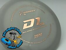 New-Disc Golf-Prodigy Disc D1 Max 400 Plastic 174g
