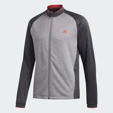 Adidas Golf Poids Moyen Texturé Veste (Gris Six - XXL)