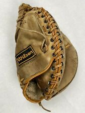 Vintage Carlton Fisk Leather Glove Right Hand Thrower