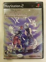 Kingdom Hearts Chain Of Memories PS2 Video Games COMPLETE TESTED FREE S/H SONY