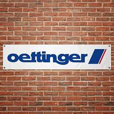 Oettinger Banner Garage Workshop PVC Sign Trackside Audi VW Tuning Display