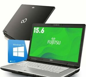 Fujitsu Laptop Lifebook E780 15.6 inch Intel Core i3 i5 i7 500GB FAULTY BATTERY