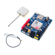 SIM808 GPRS GSM GPS 2 in 1 Shield Development Board BT Quad-band Replace SIM928