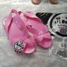 JuJu Jellies Pink flamingo Size 7 Sandals Brand New