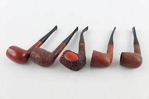5 x Assorted Vintage CAREY & EA CAREY Magic Inch Estate Smoking Pipes