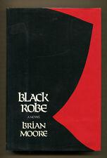 BLACK ROBE by Brian Moore - 1985 Fine 1st Edition in Near Fine DJ