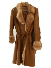 Shearling Coat Orig.$1880 Italian Super Warm Amazing Condition