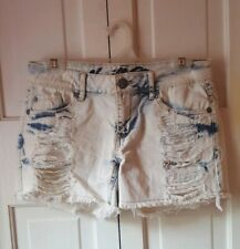 Vanilla Star Ripped Jean Shorts