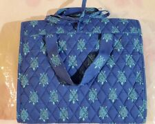 VERA BRADLEY Hanging Organizer Travel Cosmetics Jewelry MARINE TURTLES $65