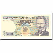[#640780] Banknot, Polska, 200 Zlotych, 1986, 1986-06-01, KM:144c, UNC(63)