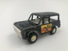 Black Ford Bronco Ranch Truck Tootsie Toy 1970's