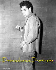 "SAL MINEO 8x10 Lab Photo 1957 ""DINO"" HANDSOME Movie Still Portrait"