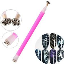 Nail Art Cat Magnet Pen for DIY Magic 3D Magnetic Cats Eyes UV Gel Polish Brush