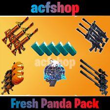 Fortnite Weapons Save the World Fresh Panda Grave Nocturno Guns OG STW Xbox PS4