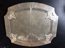 Silver Plated Sheffield Reproduction Adjustable Trivet
