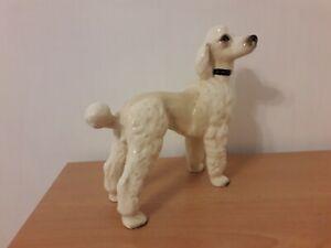 Vintage Poodle Dog Figure