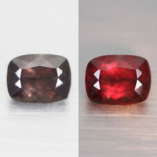 3.56CTS UNIQUE RARE 100% NATURAL EARTH MINED  TOP COLOR CHANGE GARNET GEM!