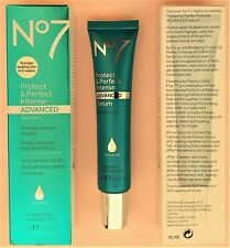 "No7 Intense Boots ADVANCED Beauty Serum ""NEW"" Not ""OLD"" White Tube 1 x 30ml"