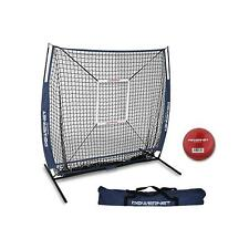 Refurbished PowerNet Baseball Softball 5x5 Hitting Net Strike Zone Training Ball