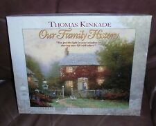 """New listing Thomas Kinkade """"Our Family History Book Heirloom Genealogy Album"""" by C.R.Gibson"""