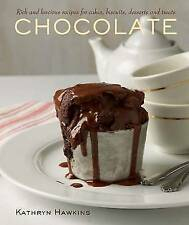 Chocolate: Rich and Luscious Recipes for Cakes, Biscuits, Desserts and-ExLibrary