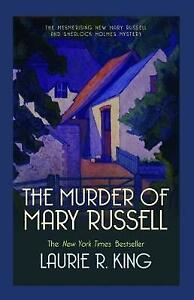 The Murder of Mary Russell (Mary Russell & Sherlock Holmes) Laurie R. King Very