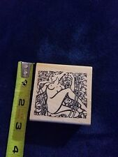 Rubber Stamp Acey Deucy Milleflori 750 Nude / Female Ultra Rare!